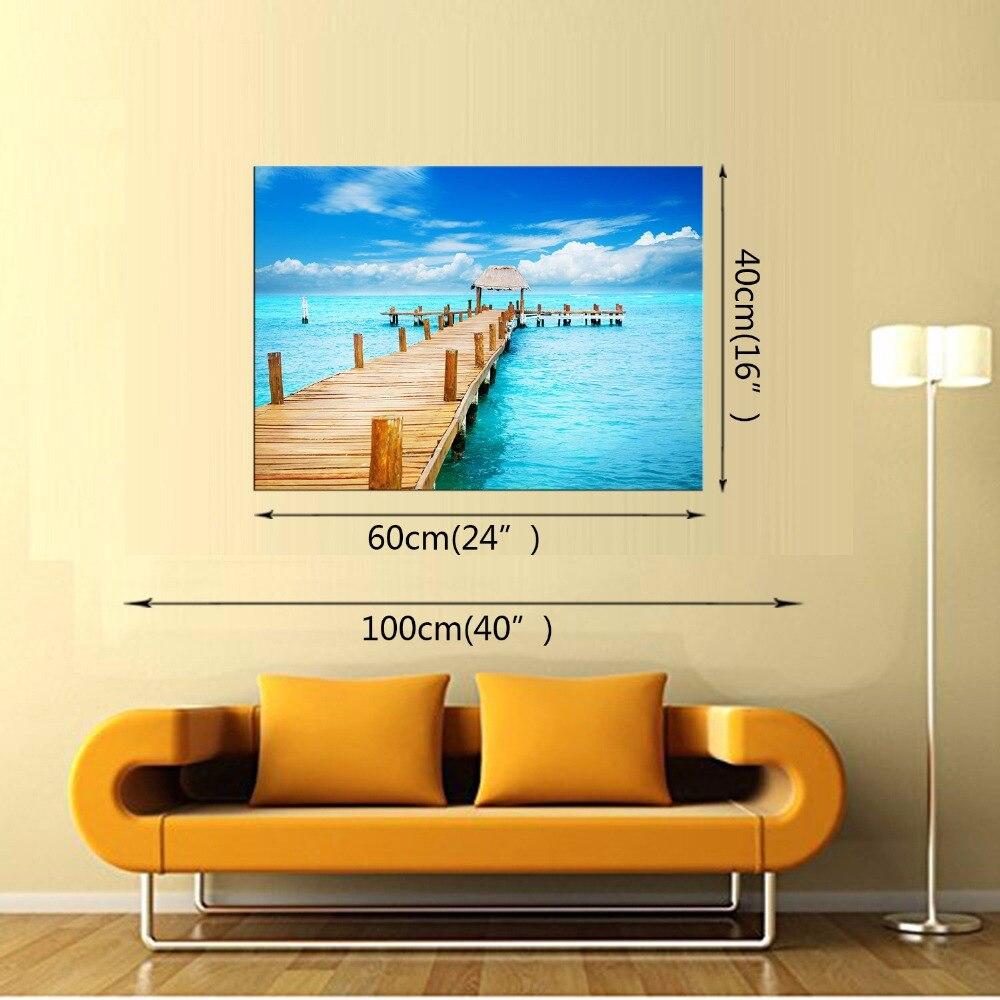 Latest Wall Decor 1 Panel Modern Wall Art Home Decoration Frameless ...