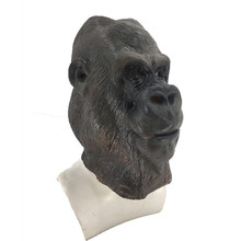 2019 new realistic latex animal monkey face mask popular Halloween role playing Adult size