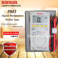 sanwa PM3 Digital Multimeters / Pocket Type  resistance / capacitance / frequency / duty cycle / continuity test