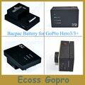 2280 мАч Аккумулятор Повышенной Емкости Go Pro Hero3/3 + (плюс) Bacpac Батареи для gopro 3/3 + аксессуары