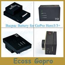 2280 mah Haute Capacité Batterie Go Pro Hero3/3 + (plus) Bacpac Batterie pour gopro 3/3 + accessoires