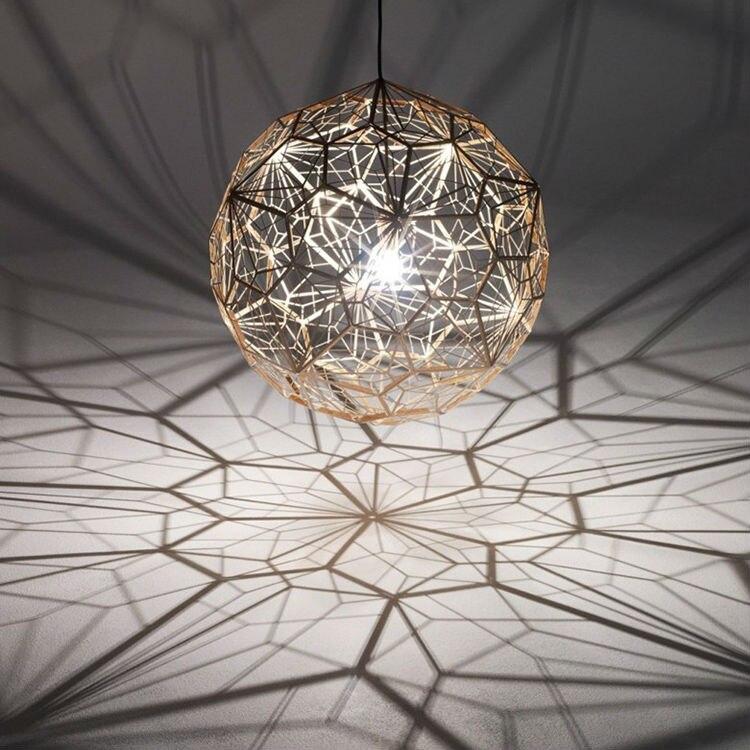 Suspension moderne boule E27 lampe suspendue pour salon Bar lampes sphère suspendue éclairage suspendu