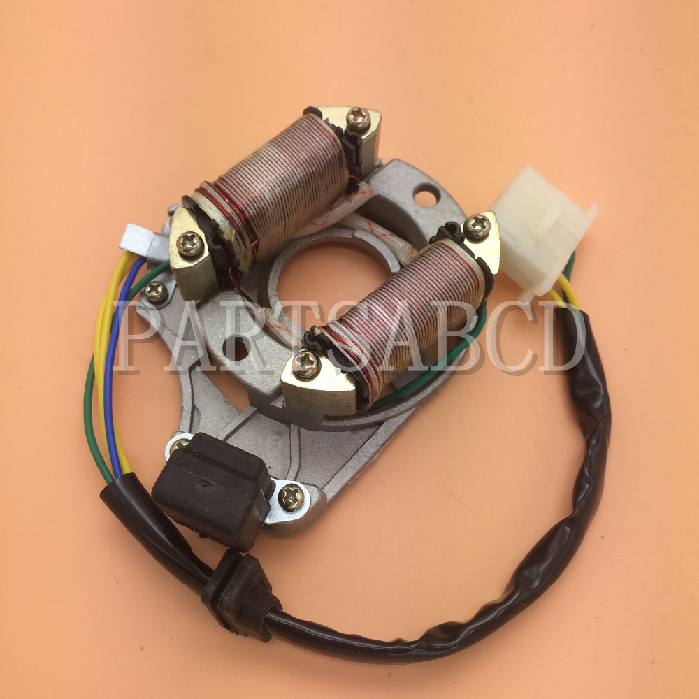 Magneto Stator 50cc 70cc 90cc 110cc 125cc 4 Wire Engine Parts Atv