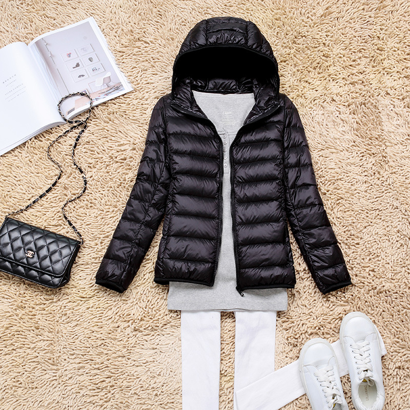 2017 New Hot Fashion Autumn Thin Parkas Female   Down   Jacket Women Clothing Winter   Coat   Solid Color Overcoat Female Jacket Parka