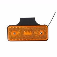 """4*1,"""" Светодиодный отражатель для грузовика, задний тормоз, сигнальный светильник, прямоугольная лампа для автомобиля/ATV, Светодиодный отражатель/боковой Предупреждение ющий светильник для грузовика"""