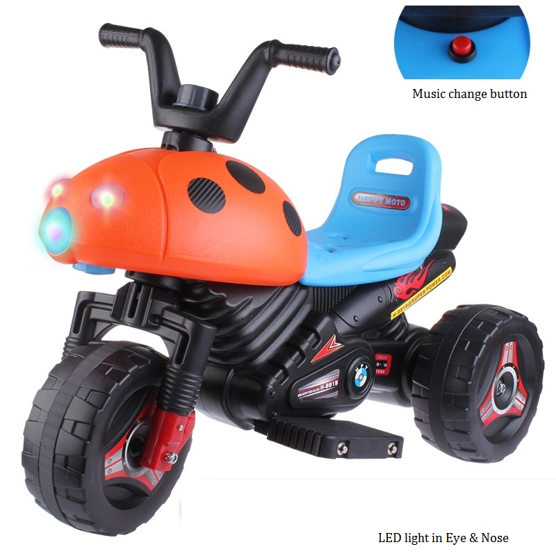 The New Children's RElectric Car Tricycle Motorcycle Baby Toy Car Wheel Car Rechargable Stroller Drive By Foot Pedal With Music the new children s relectric car tricycle motorcycle baby toy car wheel car rechargable stroller drive by foot pedal with music