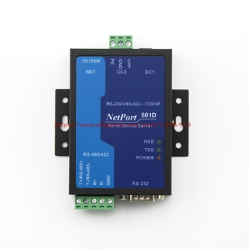 Industrial Serial Server MODBUS gateway RS485/422/232 to Ethernet module NP801D