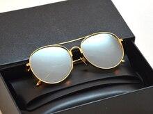 V Logo Big Bully Sunglasses Vintage Women Men Korea Brand Design Gentle With And Original Box Oculos De Sol