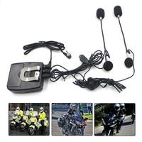 Moto Casco Walkie-talkie Comunicazione Portatile Fronte Retro Comunicazione Walkie Talkie Moto Comunicazione Cuffie