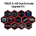 Новое Прибытие 3D Принтер Двойной Экструдер Upgrade Kit для Zonestar P802N P802M P802Q P802QS A8 Два Цветной печати Боуэн экструдер