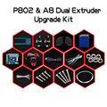Nueva Llegada de La Impresora 3D de Doble Extrusora Kit de Actualización para Zonestar P802N P802M P802Q P802QS A8 Dos impresión en Color Bowen extrusora