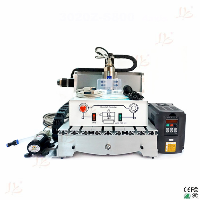 New product LY4030Z-S800 3 axis desktop cnc machine,used in personal hobby business or industrial,free shipping to EU s quire ly be2