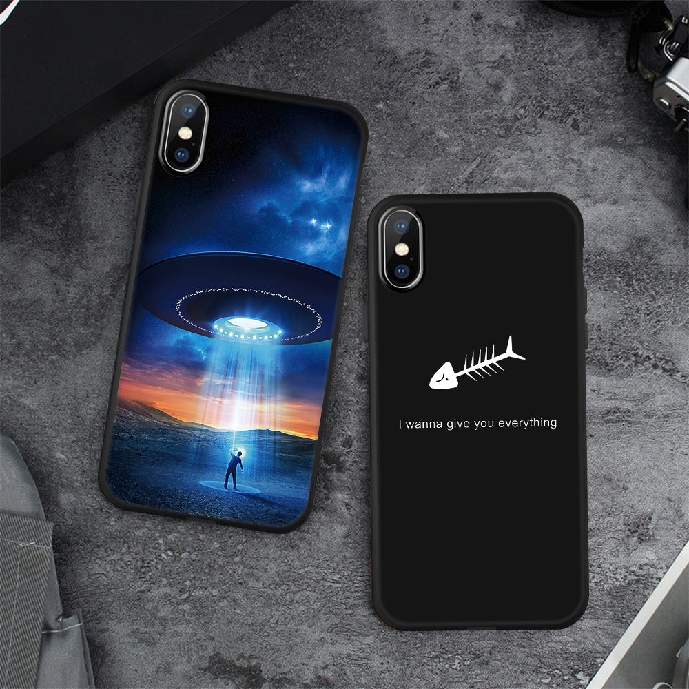 HTB1kzz2BNuTBuNkHFNRq6A9qpXal - Animal Love Heart Soft TPU Silicone Cases for iPhone 5 S SE X Phone Case For iPhone 6s 6 7 8 Plus XS Max XR Coque Frosted Fundas