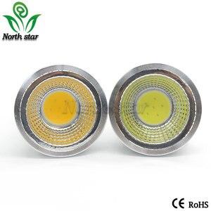 Image 3 - Super Bright GU10 Bulbs Light Dimmable Led Warm/White 85 265V 7W 10W 15W LED GU10 COB LED lamp light GU 10 led Spotlight