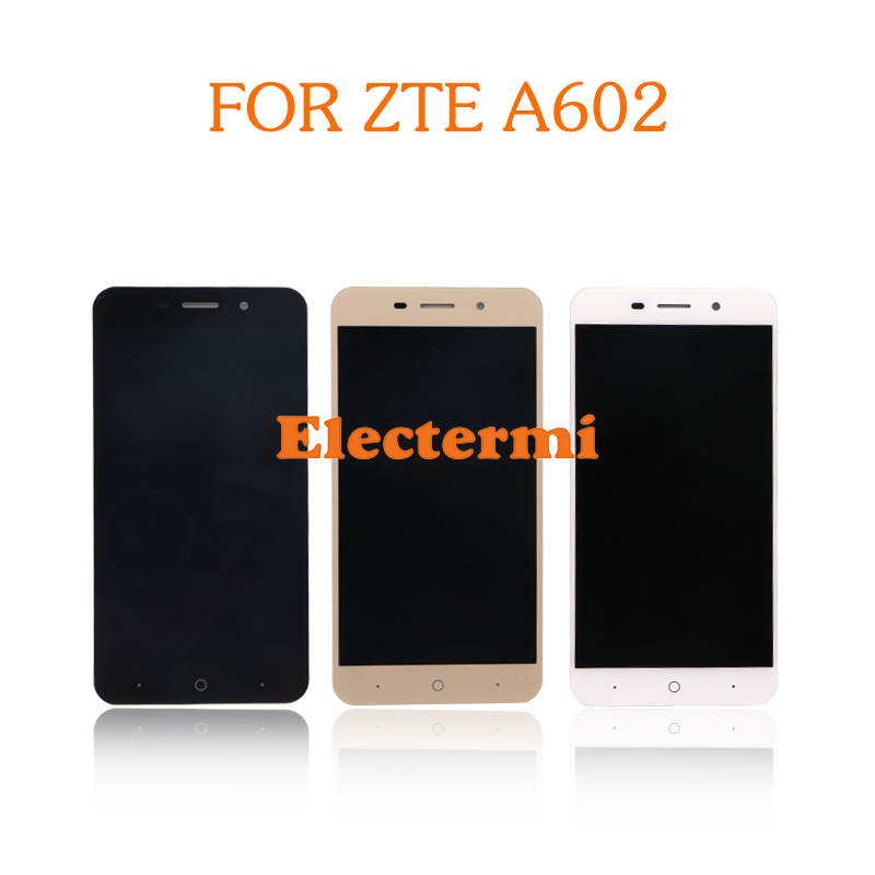 For <font><b>ZTE</b></font> <font><b>Blade</b></font> <font><b>A602</b></font> A612 <font><b>LCD</b></font> Complete <font><b>Display</b></font> Touch Screen Digitizer Assembly Replacement With Repair Tools Set image