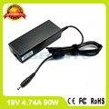 19 В 4.74A 90 Вт ноутбук адаптер переменного тока для Samsung ATIV Book 8 сенсорный 870Z5G 880Z5E E251E E252 E257 E271 E272 E3510 E352 E3520 зарядное устройство