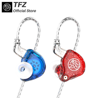 The Fragant Zither/ Series 2 Dynamic Driver HIFI Earphones,TFZ Earbuds With Mic Control Speaker,0.78mm Detachable cable 105dB