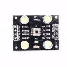 10ピースカラーセンサtcs230 tcs3200色彩認識センサ検出器モジュール