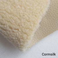 2015 Fashion France High Quality Faux Woolen Fur Fabrics Winter Soft Solid Color Keep Warm Clothes
