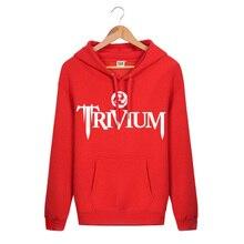 2017 neue Mode Herbst Baumwolle Slim Fit Sportbekleidung Pullover Trivium Rock Band Printed Hip Hop Kühle Mens Hoodies Und Sweatshirts