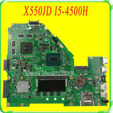 For Asus FX50J X550J X550JK X550JD motherboard REV2.0 Mainboard With i5-4500H GT820 4G Fully Test