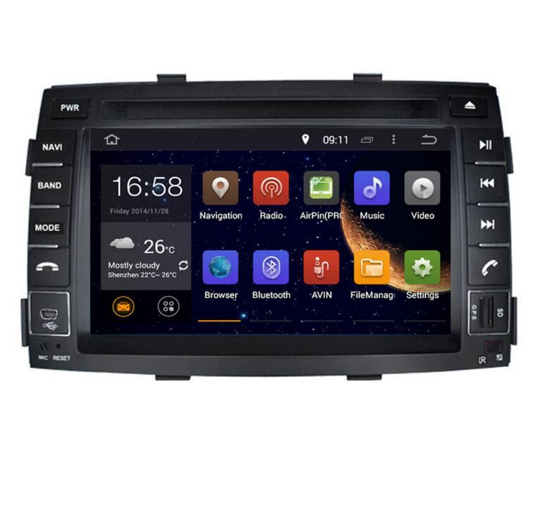 2019 7 pouces 4G LTE Android 8.1 IPS quad core voiture multimédia lecteur DVD Radio GPS pour KIA SORENTO 2010 2011 2012 DAB + caméra