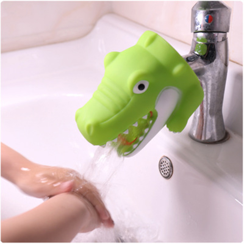 Happy Funny Animals Shower Brushes Babies Tubs Kids Hand Washing Bathroom Guide Sinks Gifts Fashion and Convenient for Baby Care