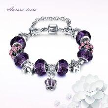 Bracelets for Women Party Gift Charm Bracelet Female Crystal Bead Ston for Girls Fashion DIY Pulseras Bracelet &Bangle Jewelry