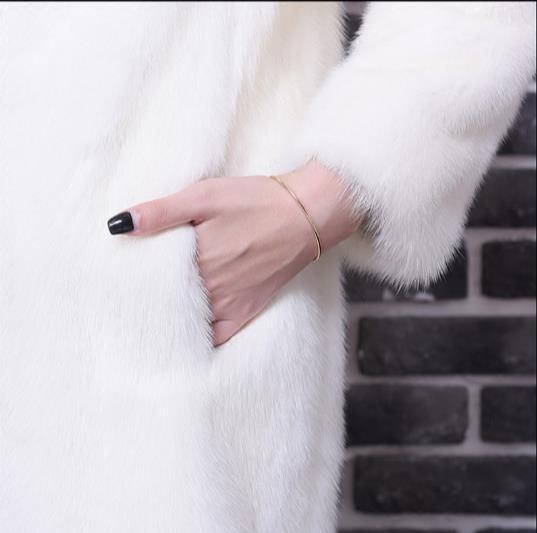 Faux Artificielle Femme Fourrure Z336 Veste Hiver Taille Plus Femmes Vison De La Outwear 2018 Manteau 0w4U4qI