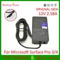 Original 1625 novo laptop adaptador para microsoft surface pro 3 PRO 4 janelas Tatblet i7 i5 i3 carregador 12 V 2.58A 36 W