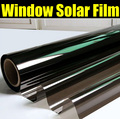 Más barato negro Car Window Tint Film Glass1.52 * 12 M rollo 2 capas polarizado protección UV + aislamiento Side Car Window Tint Film5 vidrio % 10% 15% 20%