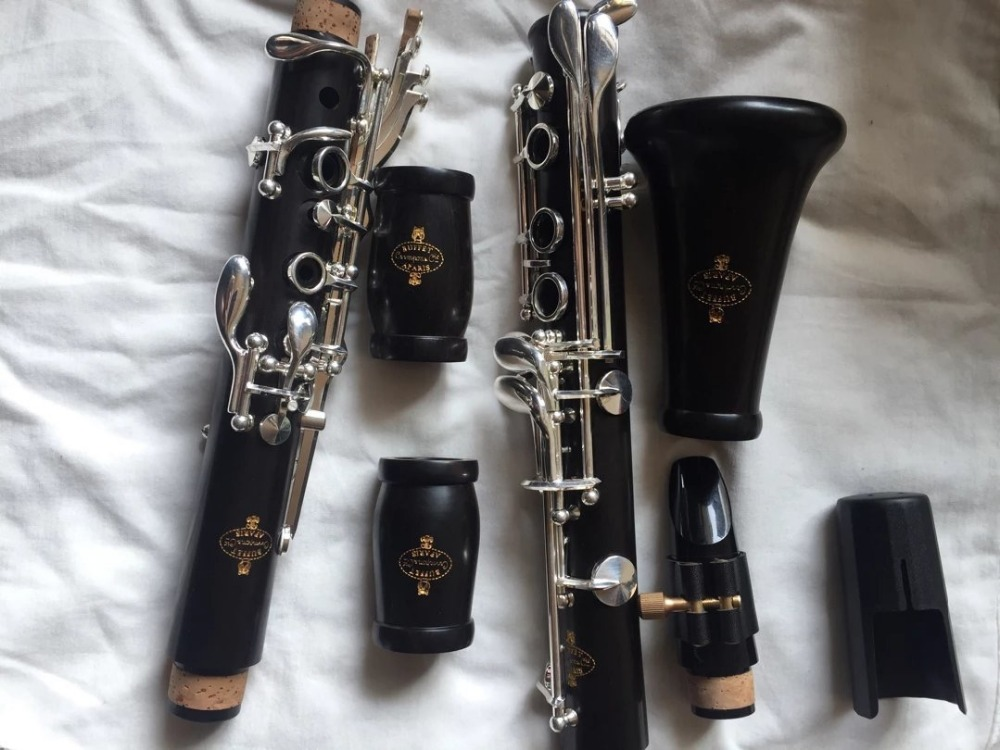 Professional Buffet R13 Ebony Clarinet Bb Clarinet 17 key with Case Top Selling From China Free Shipping excellence bb soprano clarinet bell ebony