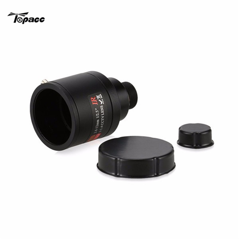 2018 New Arrival CCD 3.0MP OSD D-WDR 2.8-12mm For Focus Zoom Lens For CCTV Security FPV Camera For RC Racing Drone FPV Racer aomway 1200tvl 960p ccd hd mini camera 2 8mm lens for fpv