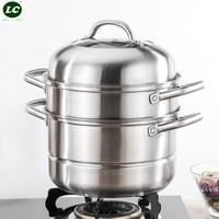 Steam pot Cookware Rice Steamer Steamer Rack Kitchen Ware Kitchen Stainless steel Cookware Steam Kitchen Food Steamer Pot