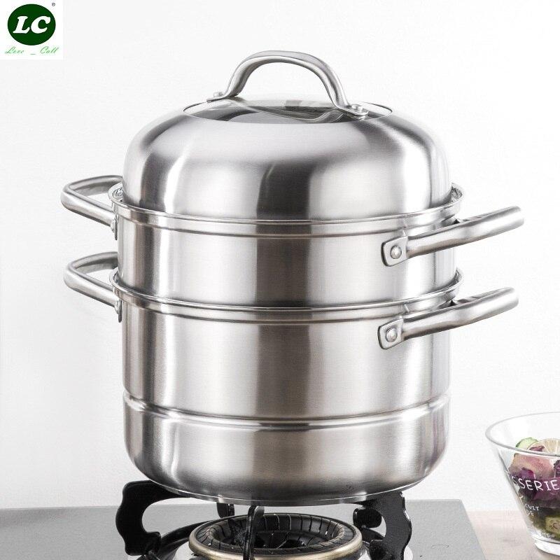 Pot à vapeur ustensiles de cuisine riz vapeur vapeur Rack cuisine ustensiles de cuisine en acier inoxydable ustensiles de cuisine vapeur cuisine nourriture vapeur Pot