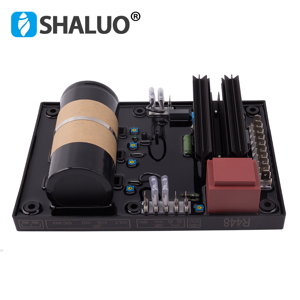 R448 AVR générateur de régulateur de tension diesel automatique AVR pièces de rechange ac