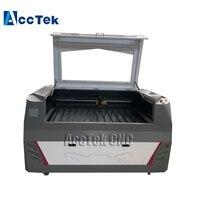 Jinan AccTek 6090 1390 co2 laser cutting machine 100w laser cutter cnc for wood, acrylic, plastic, paper
