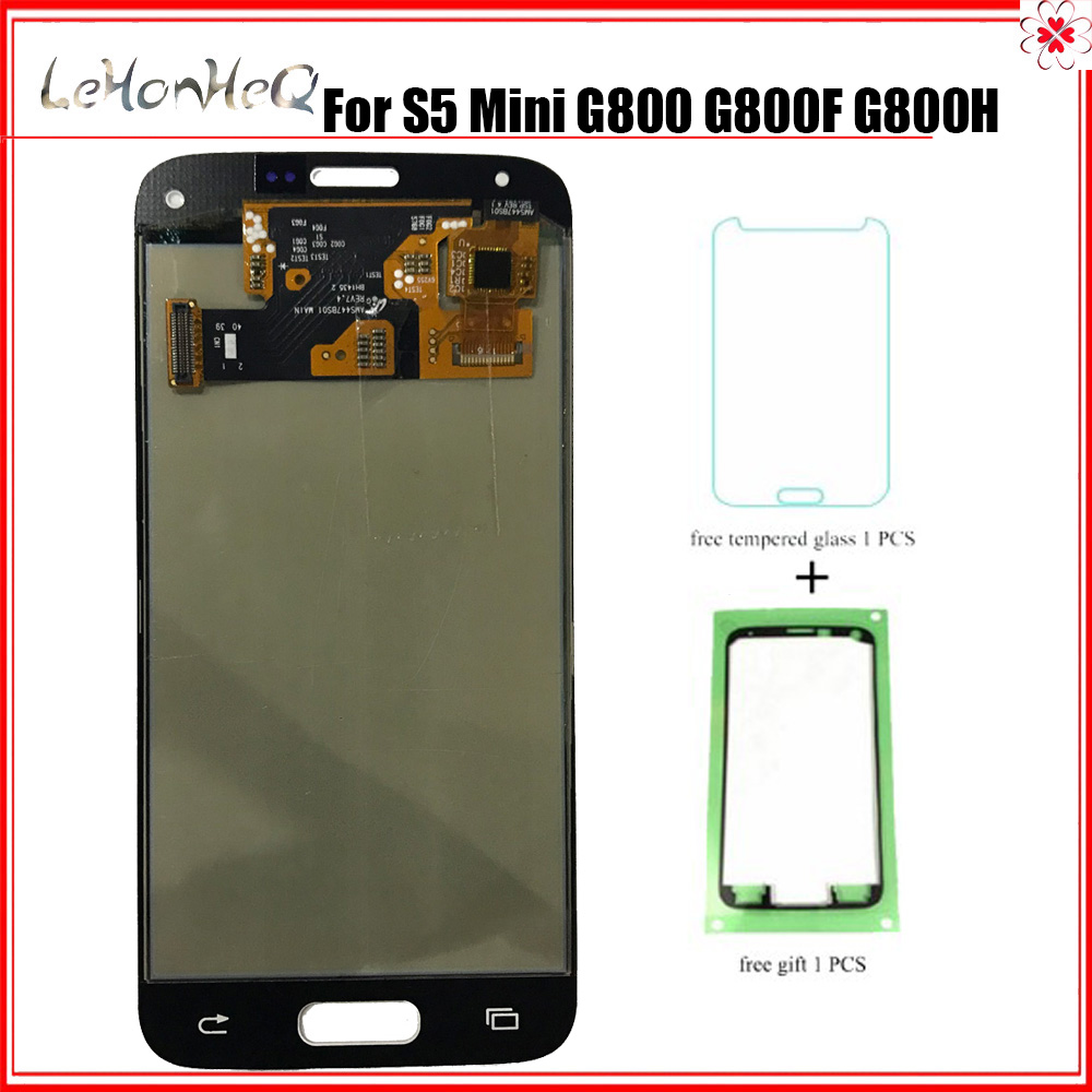 <font><b>Display</b></font> S5 mini G800h <font><b>G800F</b></font> lcd For <font><b>Samsung</b></font> Galaxy S5 mini G800 <font><b>G800F</b></font> G800H <font><b>Display</b></font> touch screen Adjust Digitizer LCD Assembly image