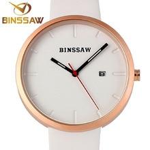 BINSSAW Nouveau Hommes Montres Top Marque De Luxe Étanche Horloge Bracelet En Acier Casual Quartz Montre-Bracelet Montre de Sport relogio masculino