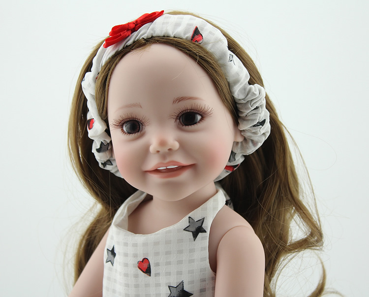 18 Inch Full VinylGirl Doll Collectible Princess Doll ...
