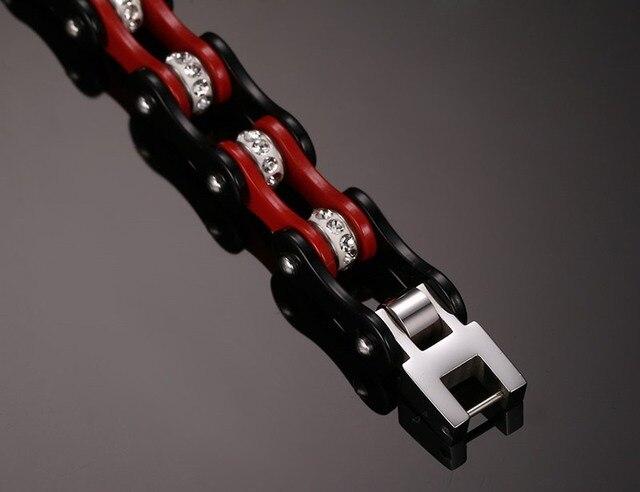 Фото рекомендуемый классический красный и черный велосипедный мужской