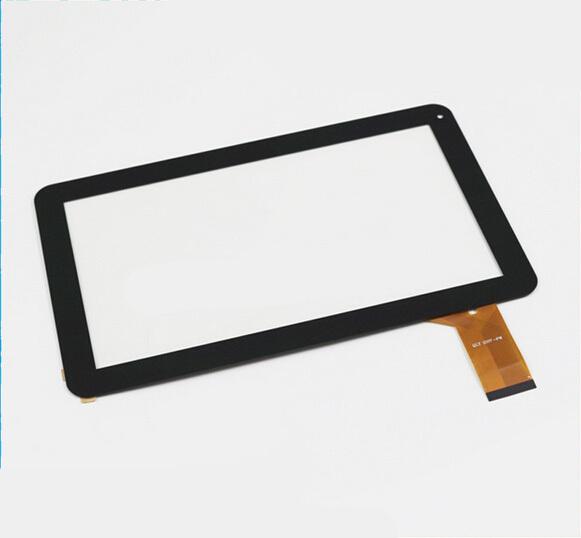 10.1 Pulgadas de Pantalla Táctil Lente de Cristal Del Panel Sensor OEM Compatible con ZHC-0356A Negro Estrenar