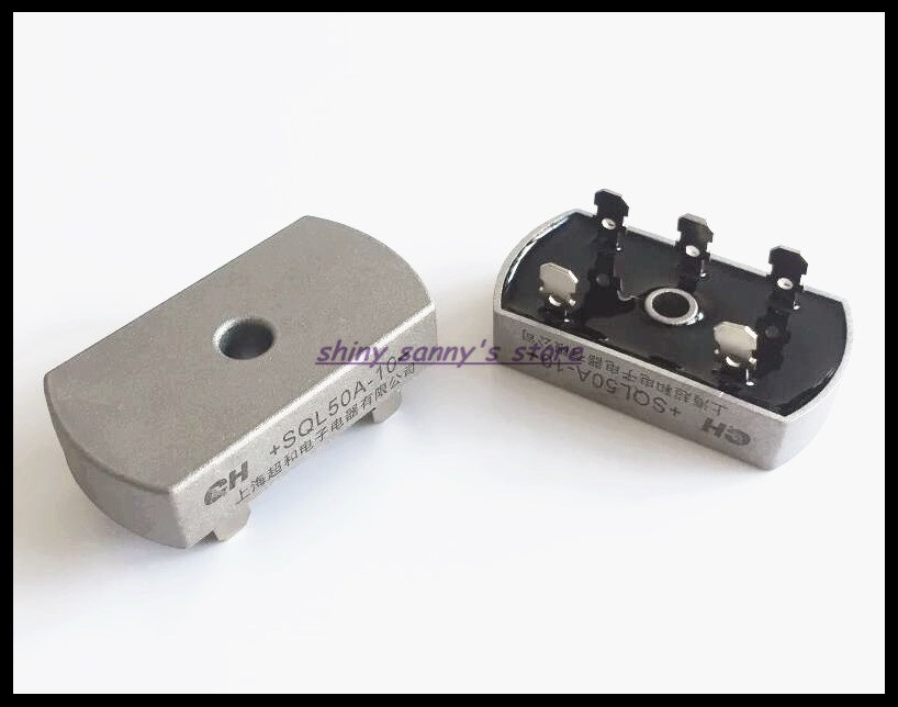 3Pcs/Lot <font><b>SQL50A</b></font> Bridge Rectifier 3 Phase Diode 50A Amp <font><b>1000V</b></font> Brand New image