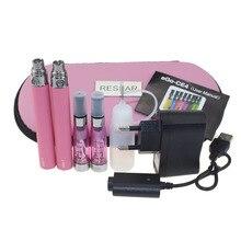20pcs/lot Double eGo CE4 Starter Kit E Cigarette 650 900 1100mAh eGo t battery CE4 Atomizer E Cig Set Zipper Case Kit 11 Colors