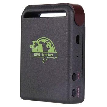 цена на 2019 Mini Vehicle GSM GPRS GPS Tracker Or Car Vehicle Tracking Locator Device TK102B