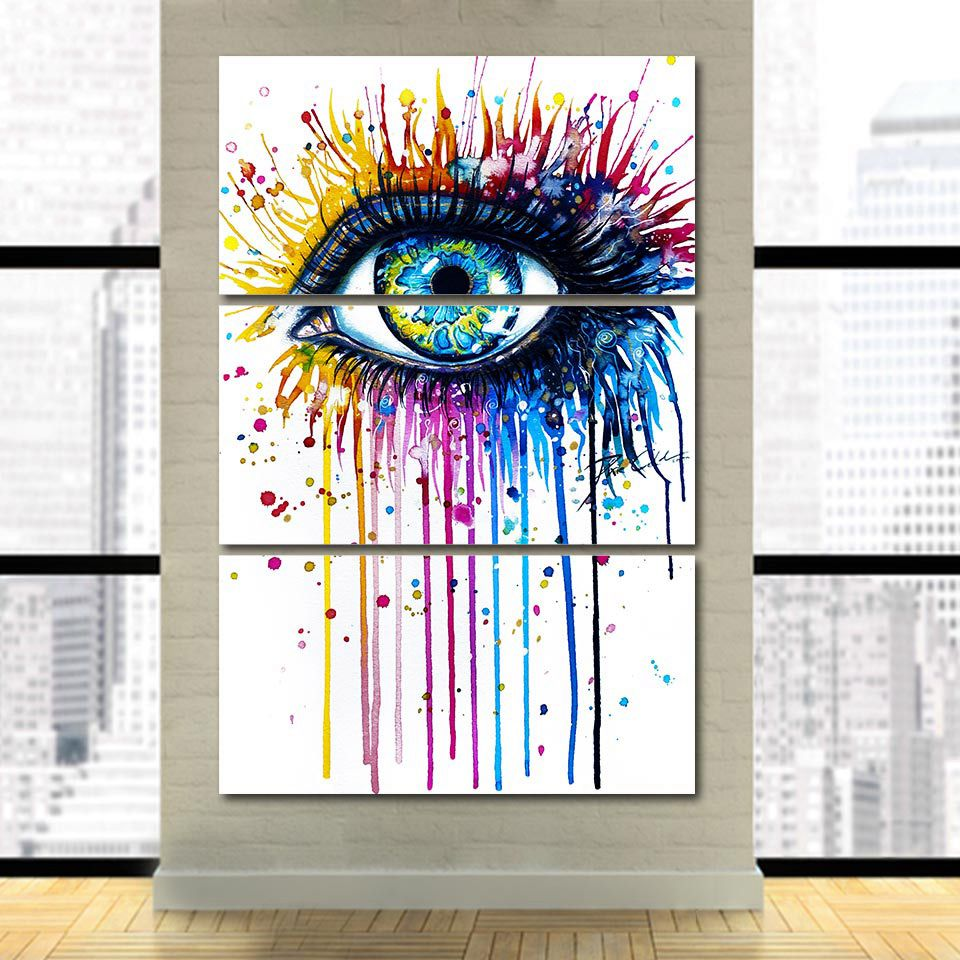 Cool Dripping Watercolor Art