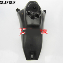 XUANKUN Crf50 Off-Road Motorcycle Accessories, Double Beam Bbr Off-Road Motorcycle Fuel Tank