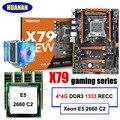 Ensamblaje de ordenador para juegos HUANAN ZHI discount deluxe X79 placa madre con ranura m2 CPU Intel Xeon E5 2660 C2 cooler RAM 16G (4*4G)