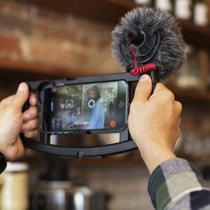 Image 4 - רכבו המקורי VideoMicro הקלטת מיקרופון ראיון מיקרופון עבור Canon Nikon Sony DSLR מצלמה Smartphone Vlog וידאו צילום