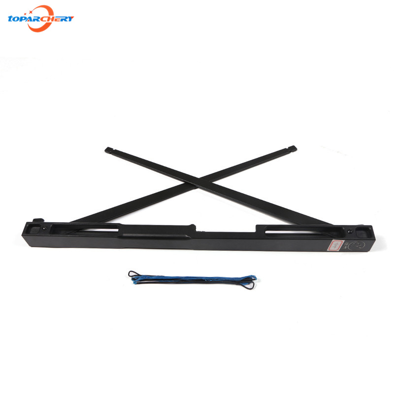 40 50 60 LBS Black Aluminum Alloy Straight Bow for shooting hunting bow Riser Portable Folding Bows Survival Tools archery bow 40 50 60lbs gold folding bows archery hunting shooting straight bow and arrows aluminum alloy bow riser portable survival tools